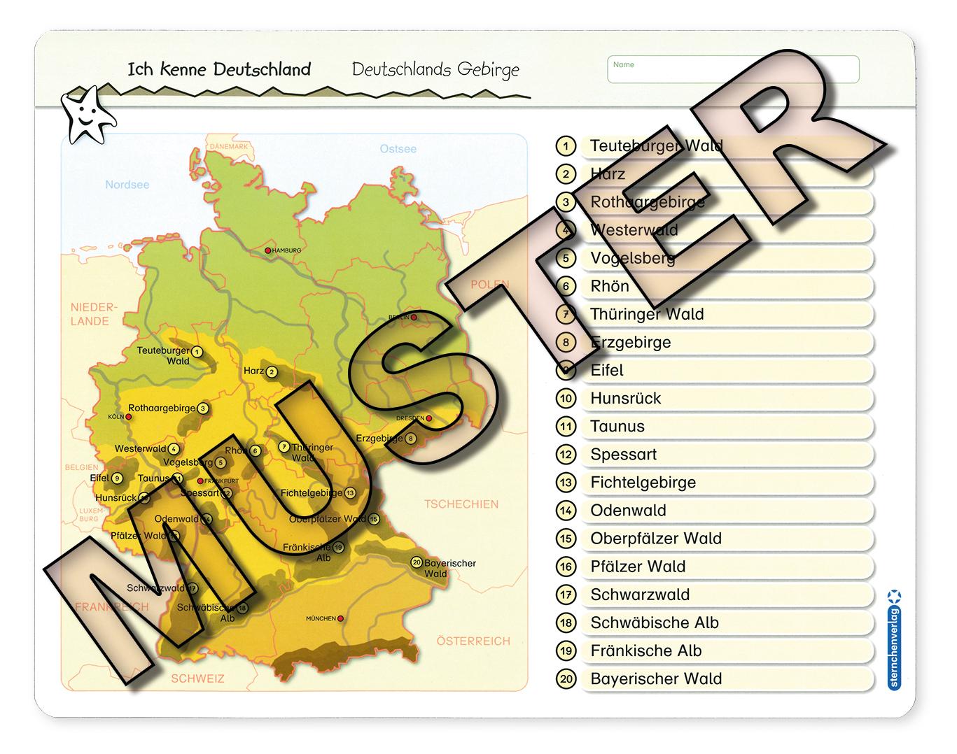 Veris Direct Ich Kenne Deutschland Deutschlands Gebirge