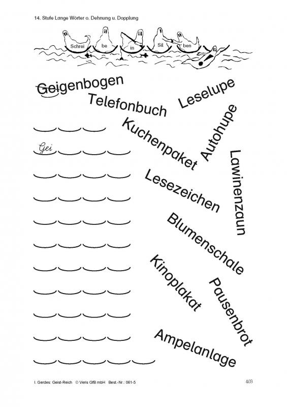 Veris Direct - Geist-Reich. Arbeitsblätter, den Stufen des Kieler ...